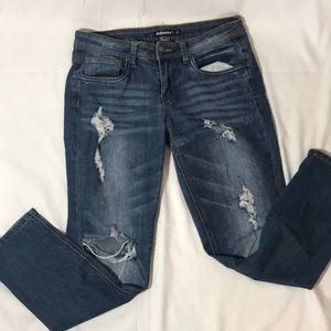 Dollhouse Destructed Jeans